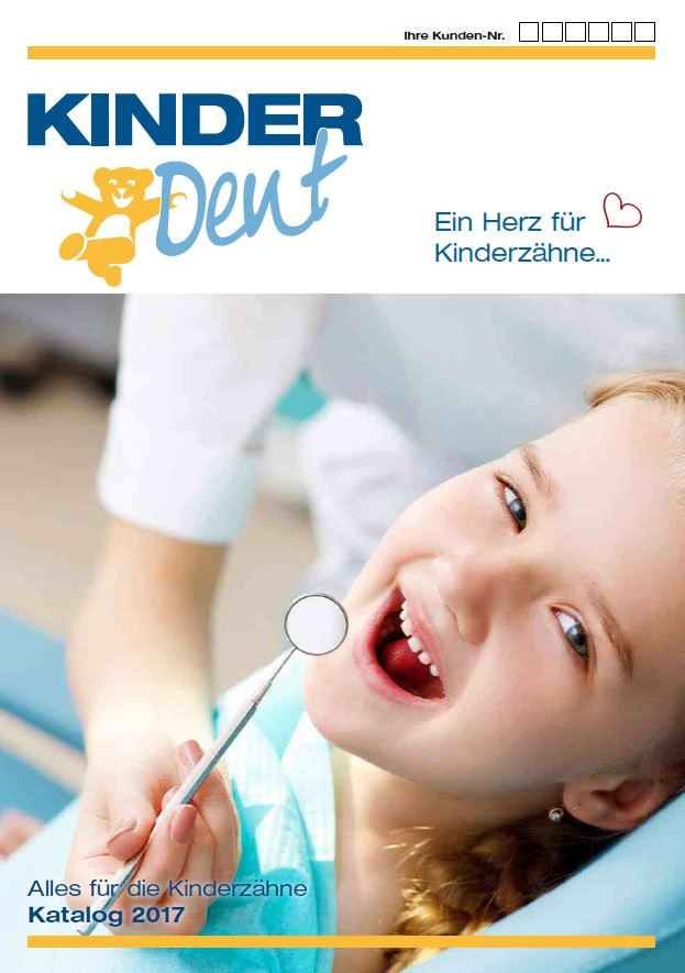 Catalogue in German 2017 - Everything for the treatment of children's teeth